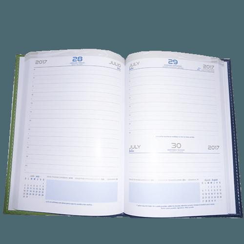 agendas de escritorio / agendas personalizadas